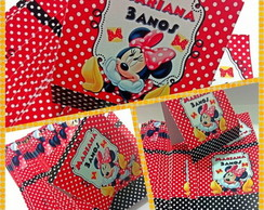 Capa de pirulito Minnie Mouse