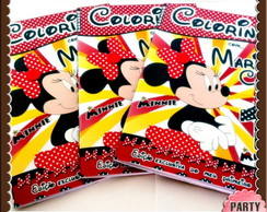 Revista colorir Minnie Mouse