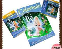 Revista kit colorir Sininho e Peter Pan