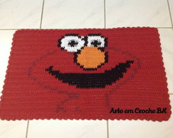 Tapete Crochê Personagem Elmo