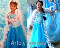 fantasia Elsa do Frozen