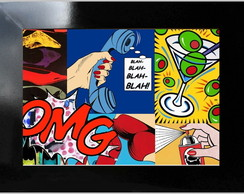 **QUADRO DECORATIVO - POP ART 11