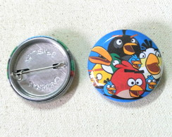Botton Angry Birds - 2,5cm