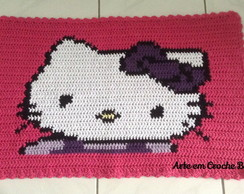 Tapete Croche Hello Kitty
