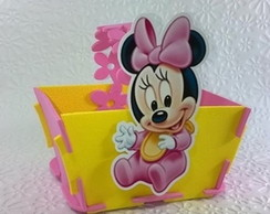 Cestinhas minnie e mickey baby