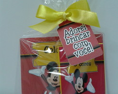 Mini Kit Colorir P Mickey001