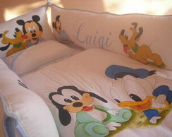 Kit de berço turma do mickey baby
