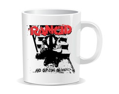 Caneca Rancid - Punk Rock