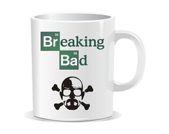 Caneca Breaking Bad - Séries