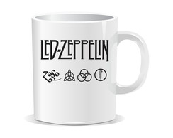 Caneca Led Zeppelin - Rock