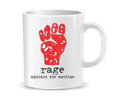 Caneca Rage Against the Machine - Rock
