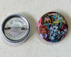 Botton Monster High - 2,5cm