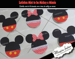 Latinha mint to be Minnie/Mickey (vazia)