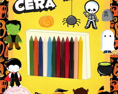 Giz de Cera - Halloween Mini