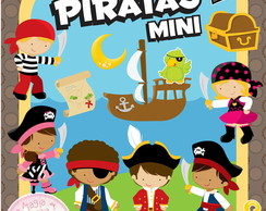 Piratas Mini - Artes Digitais