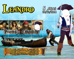arte digital piratas do caribe
