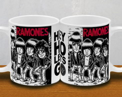 CANECA RAMONES CARTOON