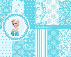 Kit Festa Frozen - 3 kits por R$12,00