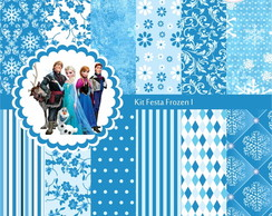 Kit Festa Frozen - 3 Kits R$12,00