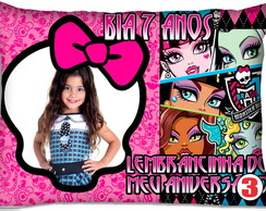 Almofada com foto Monster High