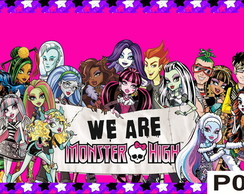 Painel Monster High 2,40x1,45m