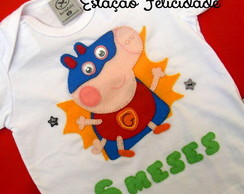"Camisetas ""George & Peppa Pig"""