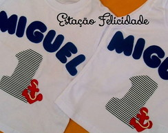 "Camisetas personalizadas ""Fundo do Mar"""