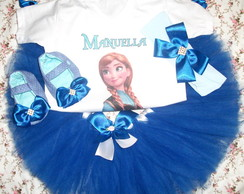 Kit Festa fantasia Frozen
