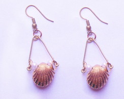 Brinco Pearls and shells