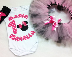 Kit Festa fantasia Minnie Rosa Pink