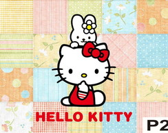 Painel Hello-Kitty 2,40x1,45m