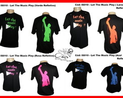 Camisa Dj Let The Music Play Fluorescent