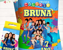 Kit Revista + Giz Chiquititas