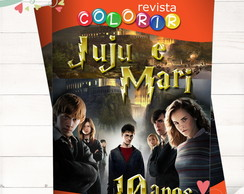 Revista Colorir Harry Potter