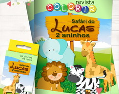 Kit Revista Colorir