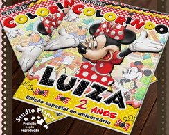 Revista de colorir Minnie
