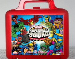 Maletinha - Super Hero Squad