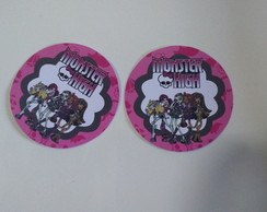 rotulo latinha Monster High