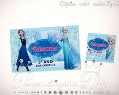 Kit escolar 12 G e 50 P - FROZEN