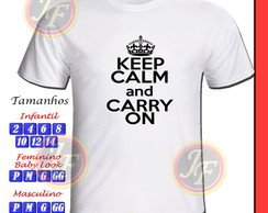 Camiseta Keep Calm Personalizada