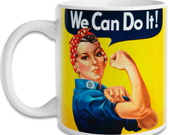 Caneca Pin Up - We Can do it -Mod.03