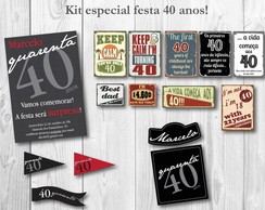 Kit Festa Digital SURPRESA para ele!