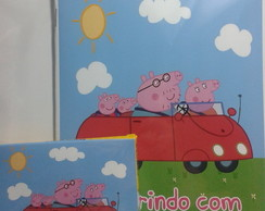 KIT COLORIR PERSONALIZADO PEPPA PIG