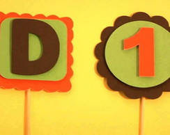 Totens/Toppers Personalizados 3D
