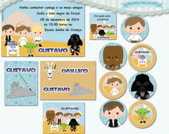 Kit Festa Infantil Star Wars (arte)