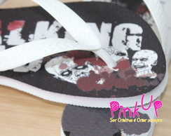 Chinelo Personalizado - The Walking Dead
