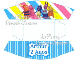 Caixa Hot Dog Backyardigans