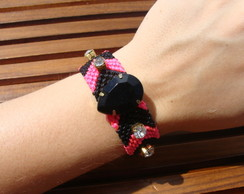 BP5005 | Pulseira Friendship Pink