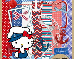 MiniKit Scrapbook#290 Sailor Hello Kitty