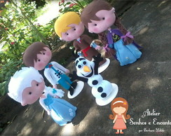 Personagens frozen